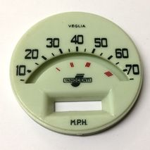 Lambretta series 2 70 mph speedo face SCOOTOPIA