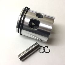 Vespa standard 200 piston 66.5 Made in Italy