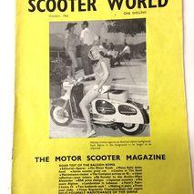 Scooter World magazine OCTOBER 1962