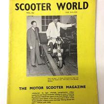 Scooter World magazine MAY 1961