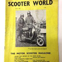 Scooter World magazine JULY 1965