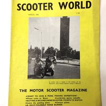 Scooter World magazine MARCH 1965