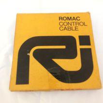 Lambretta ROMAC front brake cable NOS