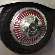 ULMA style 10 inch hubcap