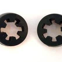 PATHFINDER spot light mount rubbers NOS