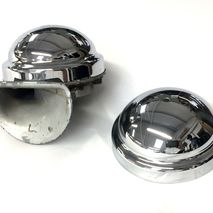 Clear Hooter chrome horn top