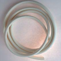 Vespa WHITE legshield rubber trim