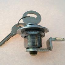 Vespa old style toolbox lock