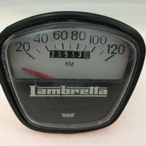Lambretta (S.I.L) speedometer 120kph