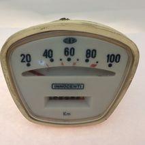 Lambretta CEV 100kph Speedometer