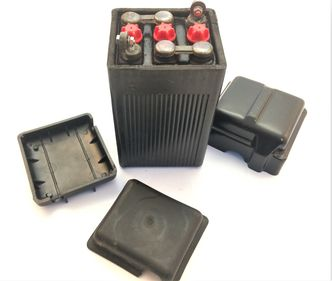 Black original style battery and NOS covers image #1