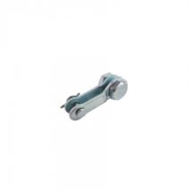 Lambretta rear brake cable clamp set
