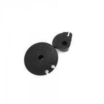 Lambretta BLACK throttle and gear pulleys
