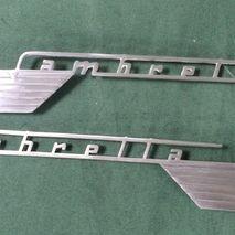 Lambretta series 1 & 2 side panel badges set of 2