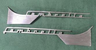 Lambretta series 1 & 2 side panel badges set of 2 image #1