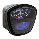 S.I.P 140 black face speedo/rev counter