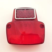 Vespa 90 rear light lens NOS SIEM 78627