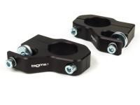Shock absorber upper mount -BGM PRO Clip on aluminium CNC- Lambretta LI, LIS, SX, TV, DL, GP - black