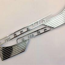 Lambretta chrome side panel badges S1 / 2